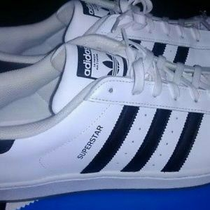 ew Adidas mens Superstar new shoes